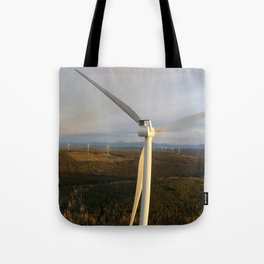 Quality Wind Project Tote Bag