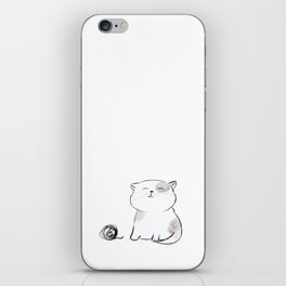 Play with me, Human. iPhone Skin