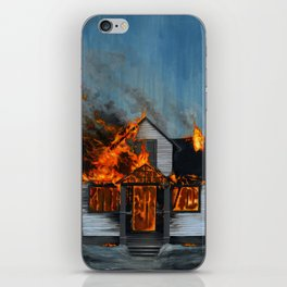House on Fire iPhone Skin