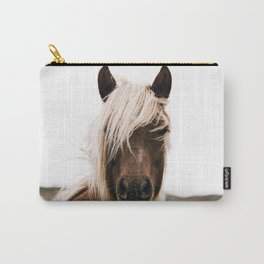 Wild Horse IV / Iceland Carry-All Pouch