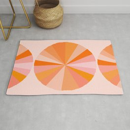 Abstraction_NEW_SUN_COLOR_POP_ART_Minimalism_001AB Rug