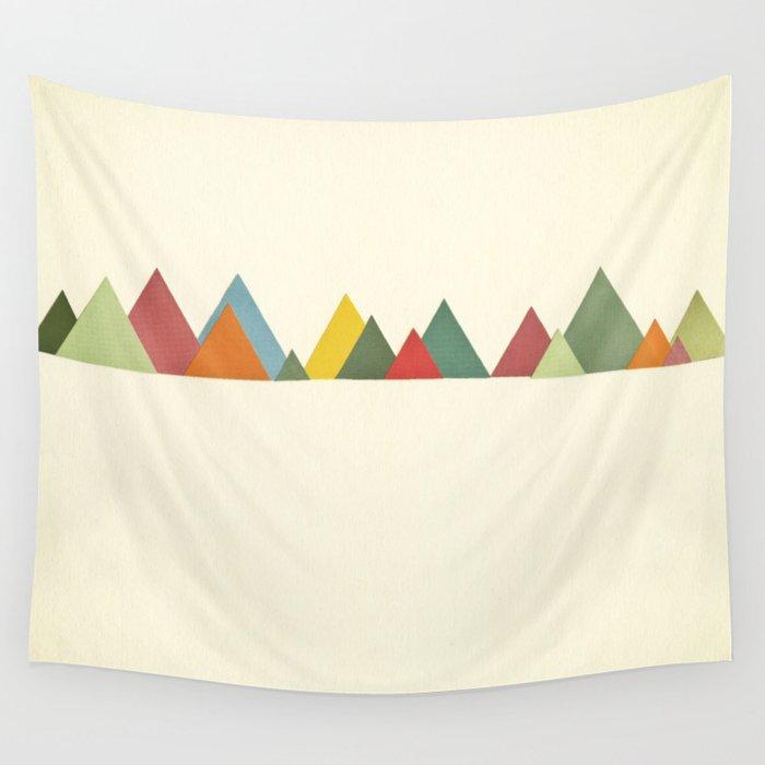Mountain range Wall Tapestry