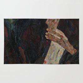 Egon Schiele - The Lyricist Rug