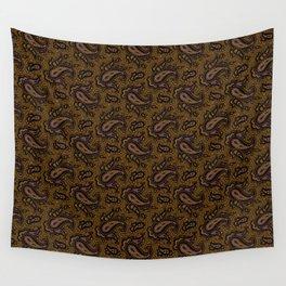 Ramona Paisley - Dark Bronze Wall Tapestry