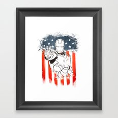 The Hero Of Our Time Framed Art Print