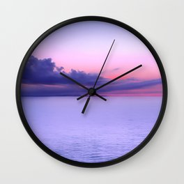 Sunset Indigo Mood Wall Clock