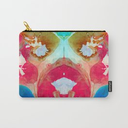 I Found Your Dog - Art By Sharon Cummings Carry-All Pouch
