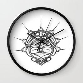 Smoke Frog Spirit Wall Clock