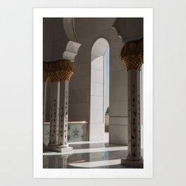 Sheikh Al Zayed mosque Abu Dhabi nº2 Art Print