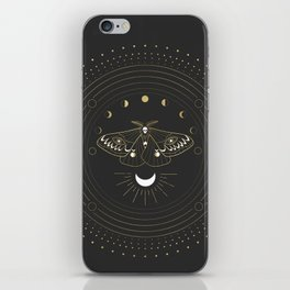 The Moon Moth iPhone Skin