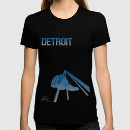 Cities Of America: Detroit T-shirt