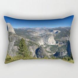 Half Dome Nevada Falls Vernal Falls Rectangular Pillow