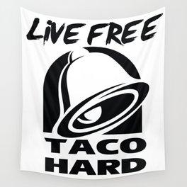 Taco Hard Wall Tapestry