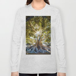 Tree Paradise (Color) Long Sleeve T-shirt