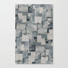 Pave Gray Canvas Print