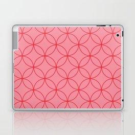 Moorish Circles - Pink & Red Laptop & iPad Skin