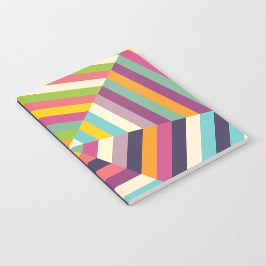 Heptagon Quilt 1 Notebook