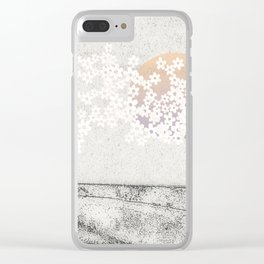 The Love Story Clear iPhone Case