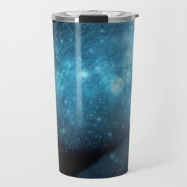 Teal Galaxy Breasts / Galaxy Boobs Travel Mug