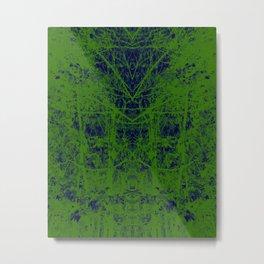 Ink Blot Metal Print