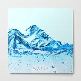 Elements Water Metal Print