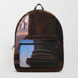 Jean-Leon Gerôme - Prisonnier de guerre a Rome Backpack