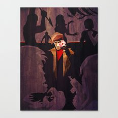 No Fool's Gambit Canvas Print