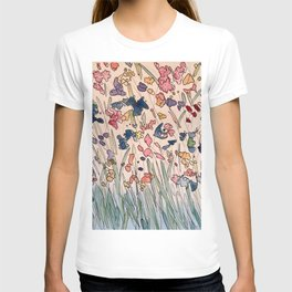Water color Gardens  T-shirt
