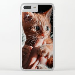 Playtime for Leo Mar Suerte Clear iPhone Case