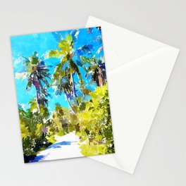 Find Your Way Back To The Beach Stationery Cards
