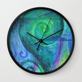 New Zealand living Wall Clock