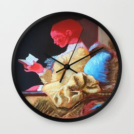 Ruth Reading  Wall Clock