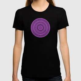 purple frequency T-shirt