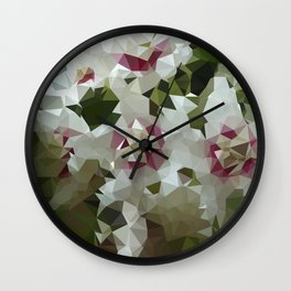 hoya low triangle Wall Clock