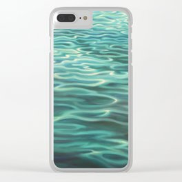 Water Meditation Clear iPhone Case