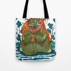 Cookie Swamp Monster Tote Bag