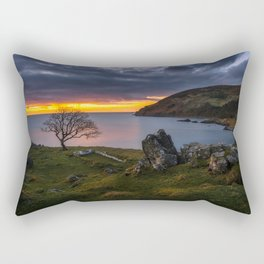 Murlough Bay in Northern Ireland Print (RR 274) Rectangular Pillow