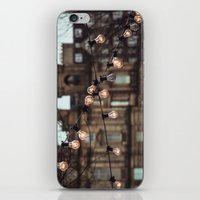 the lights iPhone & iPod Skins featuring Lights by Errne