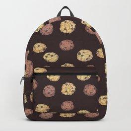 cookies pattern_brown Backpack