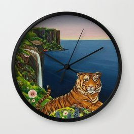 Tigresa Wall Clock