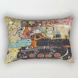 Never Again Tomorrow Express Rectangular Pillow