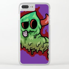 Stink Demon Clear iPhone Case