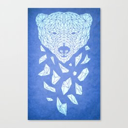 Polar Bare Blues Canvas Print