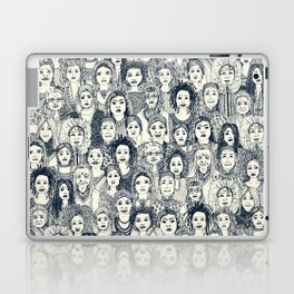 WOMEN OF THE WORLD INDIGO Laptop & iPad Skin