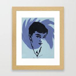 Audrey 6 Framed Art Print