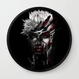 Red Eyes Wall Clock