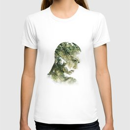 forest silhouette  T-shirt