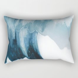 Free Wave Rising Rectangular Pillow