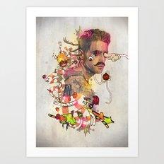 Zero Art Print