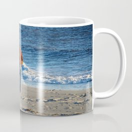 Searching The Beach Coffee Mug